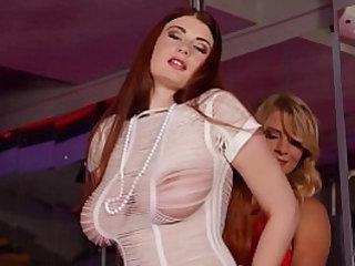 Busty Stripper Katerina Hartlova Lucy Li Fuck at the Stripclub