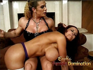 Milf love sex with massive fake tits dominated by an angry bodybuilder