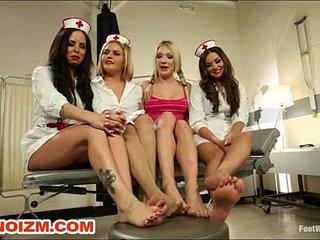 Foot Fetish Lesbian Nurses Fist Slave Patient