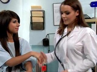 Lesbian doctor seducing a teen by massage xxxrocke